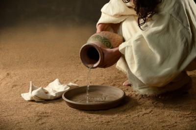 Jesus serviteur Dieu évangile Bible