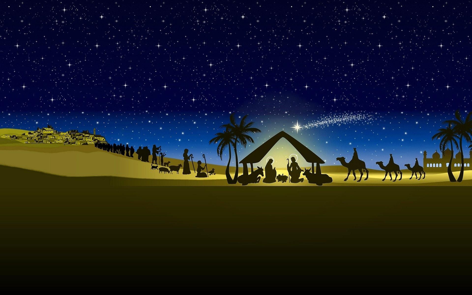 Noel Naissance Christ Sauveur du Monde Fils de Dieu