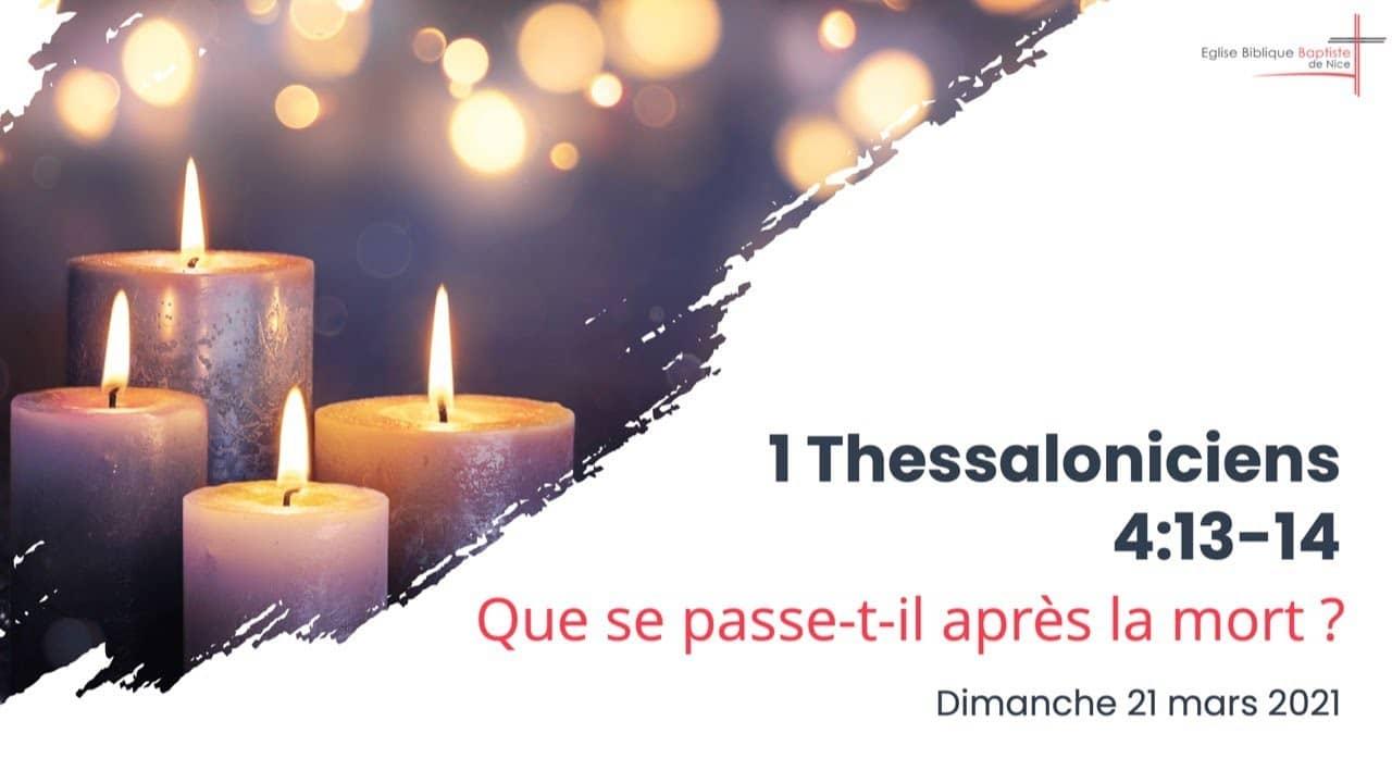 1 thessaloniciens 4 13 14